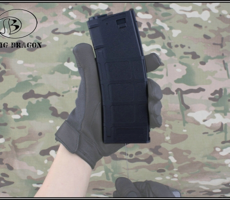 360rd PMAG Style Quick Reload AEG Magazine/BK