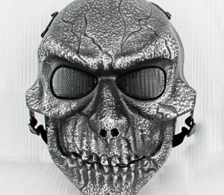 Toxic Mask Silver