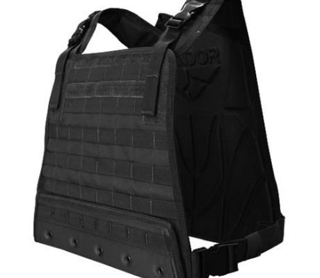 CPC-002 Compact Plate Carrier Black