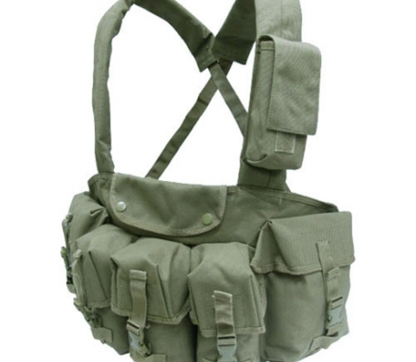 CR-001 7 Pocket Chest Rig OD