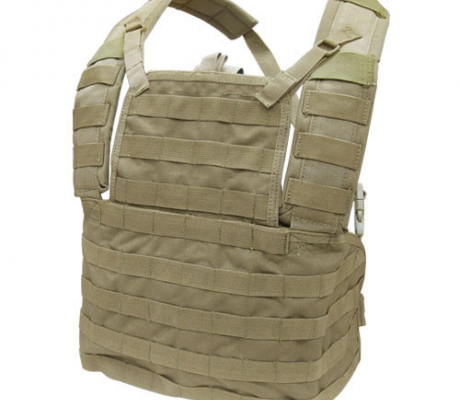 MCR1-003 Modular Chest Rig I Coyote Tan