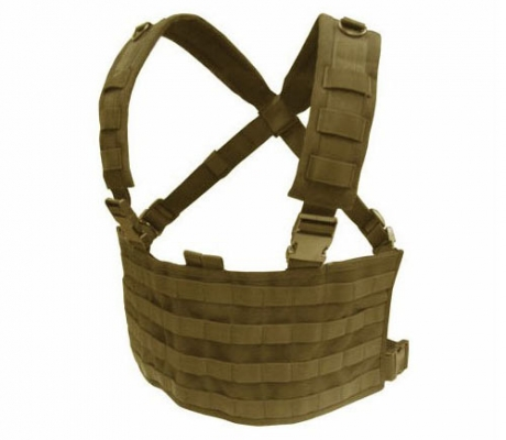 MCR4-003 OPS Chest Rig Coyote Tan