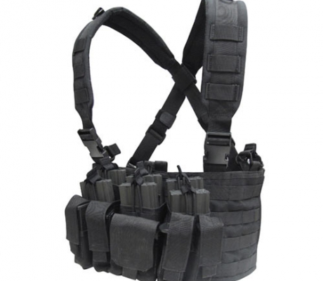 MCR5-002 Recon Chest Rig Black