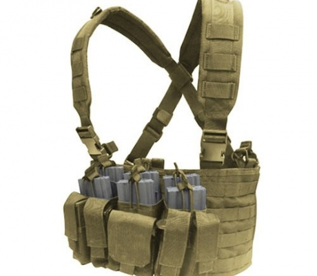 MCR5-003 Recon Chest Rig Coyote Tan