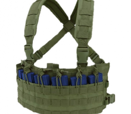 MCR6-001 Rapid Assault Chest Rig OD