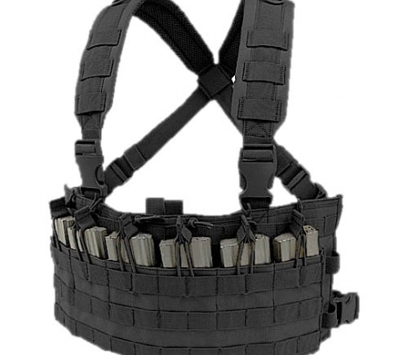 MCR6-002 Rapid Assault Chest Rig Black