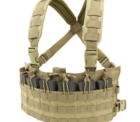MCR6-003 Rapid Assault Chest Rig Coyote Tan