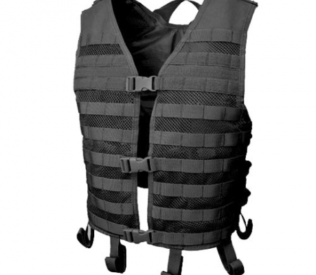 MHV-002 Mesh Hydration Vest Black