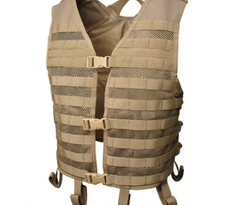 MHV-003 Mesh Hydration Vest Coyote Tan