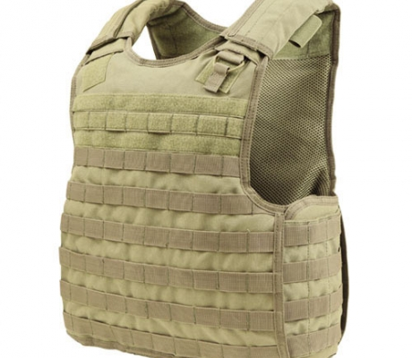 QPC-003 Quick Release Plate Carrier Coyote Tan