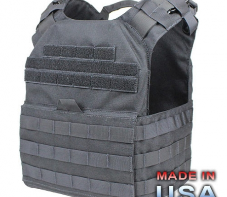 US1020-002 Cyclone Lightweight Plate Carrier Black