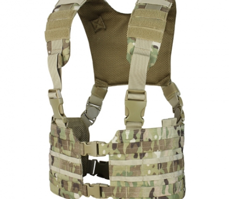 MCR7-008 Ronin Chest Rig MultiCam