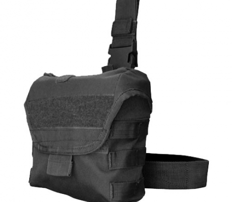 MA38-002 Drop Leg Dump Pouch Black