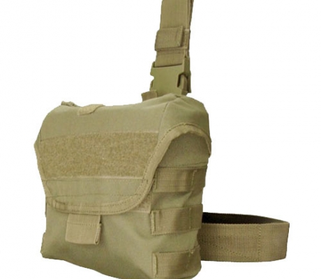 MA38-003 Drop Leg Dump Pouch Coyote Tan