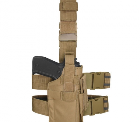 TLH-003 Tactical Leg Holster Coyote Tan