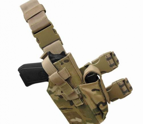 TLH-008 Tactical Leg Holster MultiCam
