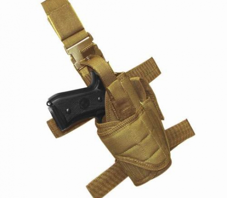 TTLH-003 Tornado Tactical Leg Holster Coyote Tan