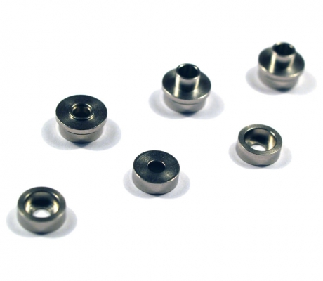 Stainless Bushing for SMOOTH Modular Gear Set 7mm (6 pcs)