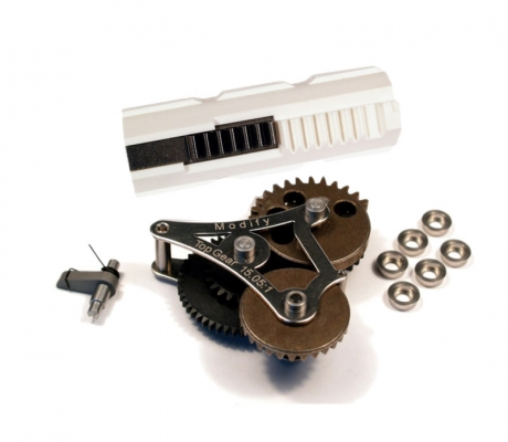 Modular Gear Set 7mm Ver.2/3 (Top Gear 15.05:1) + Ultra Piston