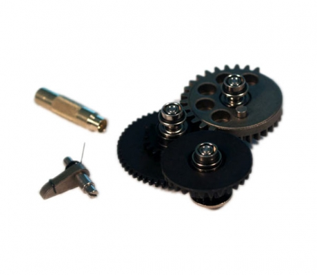 Modular Gear Set-SMOOTH 8mm Ver.2/3 (Torque 21.6:1) + Gear Key
