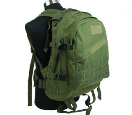 3D assault backpack OD