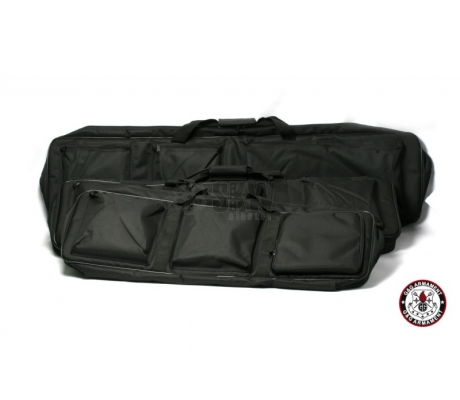 FUNDA TACTICA DOBLE NEGRA RIFLE 88MM G&G