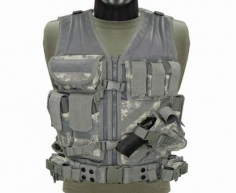 CV-007 Cross Draw Vest Coyote ACU M/L