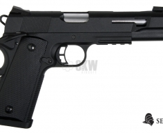 PISTOLA GAS Y CO2 RUDIS PLATA SECUTOR