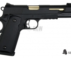 PISTOLA GAS Y CO2 RUDIS ORO SECUTOR