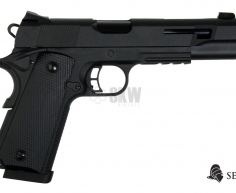 PISTOLA GAS Y CO2 RUDIS NEGRA SECUTOR